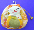 Maneki Neko Lucky Cat Coin Purse #22408-8
