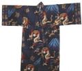 Japanese Men's Kimono Robe w/ Dragon Kanji