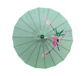 Light Green Oriental Parasol 32in