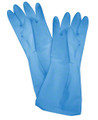 1 Pair Reusable Latex Gloves Large Size