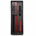 Dragon Print Bamboo Chopsticks w/ Rest Gift Set