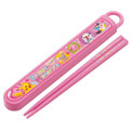 Pokemon Pikachu Plastic Travel Chopsticks w/Case