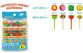 Face Shape Food Fruit Picks 8pcs
