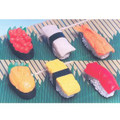60 pieces Iwako Japanese Puzzle Sushi Eraser Set