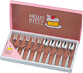 Sanrio Hello Kitty Stainless Steel Fork Spoon Set 10pc