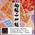 300 sheets Japanese Washi Chiyogami origami Paper 3 inches 10 Pattern #1179
