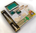 Japanese Sushi Gift Set Plates Knife Mold Chopsticks