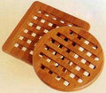 Set of Two Bamboo Trivet