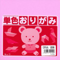 Origami Paper Single Side Solid Light Pink Color 6in 80 sheets