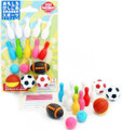 Iwako Japanese Sports Eraser Set