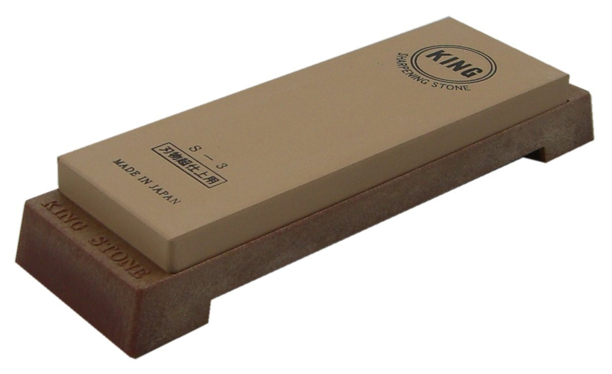 King S 3 6000 Grit Deluxe Water Stone Japan Bargain Inc