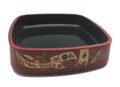 Plastic Sushi Oke Serving Tray 10.5-inch Square