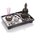 Desktop Zen Garden Thai Buddha Statue Rectangle Shape