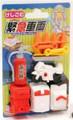 Iwako Fireman Eraser Set