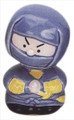 Blue Ninja Porcelain Bobble Head
