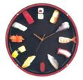Large Plastic Round Sushi Clock