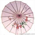 Pink Oriental Parasol 32in