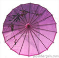Purple Asian Parasol 22in