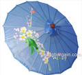 Light Blue Asian Parasol 22in