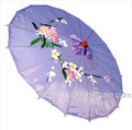 Lavender Asian Parasol 22in