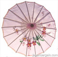 Pink Asian Parasol 22in