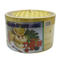 Bamboo Steamer Two Tiers 8in