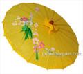 Yellow Oriental Parasol 32in