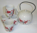 Porcelain Tea Set Ume 42oz