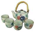 Porcelain Tea Set Usagi & Sakura 28oz