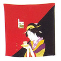 Japanese Furoshiki Gift Wrapping Cloth #P1813-RB