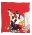 Japanese Furoshiki Gift Wrapping Cloth #P2021-R