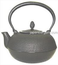 Black Hobnail Cast Iron Teapot 24oz