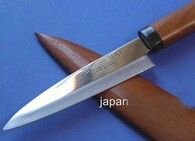 Fruit Paring Knife with Sheath 90mm S