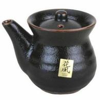 Japanese Black Porcelain Soy Sauce Dispenser 8oz