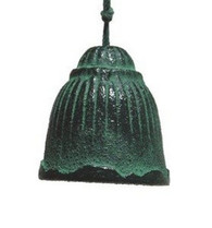 Japanese Cast Iron Fusa Bell Wind Chimes