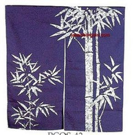 Bamboo Noren Doorway Curtain 33x35in