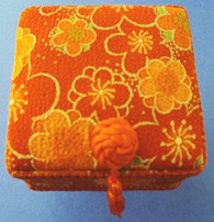 Square Skaura Jewelry Box #22630-1