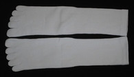 Five Toe Tabi Sock Unisex White