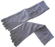 Five Toe Tabi Sock Unisex Grey