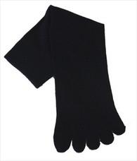 Five Toe Tabi Sock Unisex Black