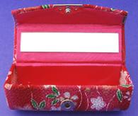 Japanese Lipstick Case w/Mirror #22635-4