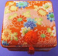 Square Skaura Jewelry Box #22630-4
