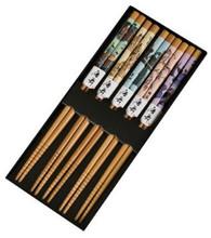 Bamboo Chopsticks Gift Set Japanese Dancing