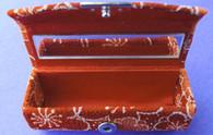 Japanese Lipstick Case w/Mirror #22635-3