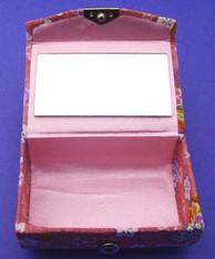 Japanese Lipstick Case w/Mirror #22636-6