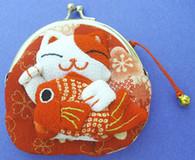 Maneki Neko Lucky Cat Coin Purse #22408-1