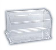 Plastic Clear Acrylic Straw Dispenser