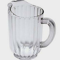 Commercial Plastic Acrylic Water Pitcher 64oz
