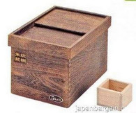Wooden Rice Storage Container Box 11 lbs