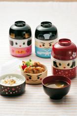 Japanese Samurai Warrior Lunch Bento Box